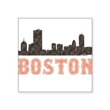 Boston Rectangle Sticker