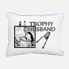 Trophy Husband Rectangular Canvas Pillow