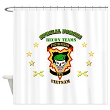 SOF - Recon Tm - Photo Recon - CCS Shower Curtain