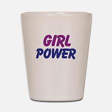 Girl Power Shot Glass