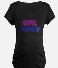 Girl Power Maternity T-Shirt