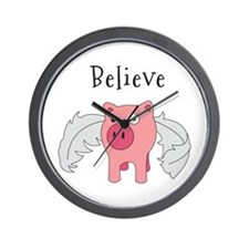Believe Wall Clock