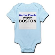 We the People Support Boston Body Suit