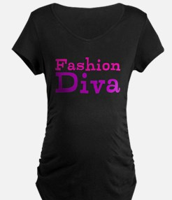 Fashion Diva Maternity T-Shirt