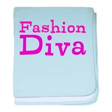 Fashion Diva baby blanket