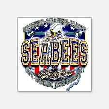 US Navy Seabees Shield Sticker
