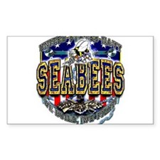 US Navy Seabees Shield Decal