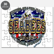 US Navy Seabees Shield Puzzle