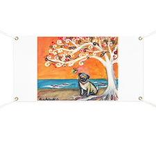 Pug ~the beauty of orange Banner