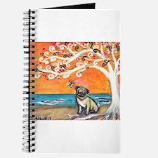 Pug ~the beauty of orange Journal