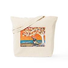 Pug ~the beauty of orange Tote Bag