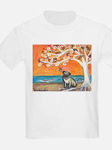 Pug ~the beauty of orange T-Shirt