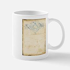Vintage Damask Scroll Mug