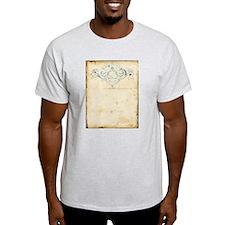 Vintage Damask Scroll T-Shirt