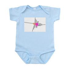 Nazca Lines Hummingbird Body Suit