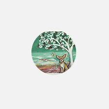 chihuahua spiritual love tree Mini Button