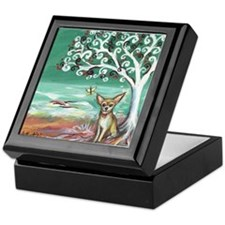 chihuahua spiritual love tree Keepsake Box