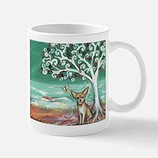 chihuahua spiritual love tree Mug