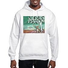 chihuahua spiritual love tree Hoodie