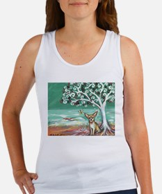 chihuahua spiritual love tree Tank Top