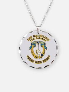 DUI - 1st Battalion 7th Cav VN 65 Necklace