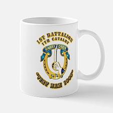 DUI - 1st Battalion 7th Cav VN 65 Mug