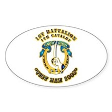 DUI - 1st Battalion 7th Cav VN 65 Decal