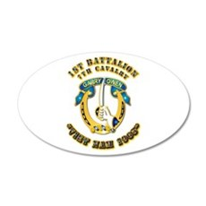 DUI - 1st Battalion 7th Cav VN 65 Wall Decal