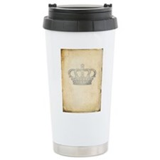 Vintage Royal Crown Travel Mug