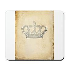Vintage Royal Crown Mousepad