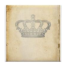 Vintage Royal Crown Tile Coaster