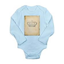 Vintage Royal Crown Body Suit