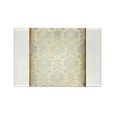 Vintage Damask Rectangle Magnet