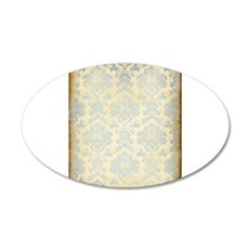 Vintage Damask Wall Decal
