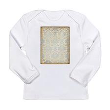 Vintage Damask Long Sleeve T-Shirt