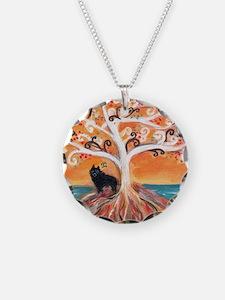 Schipperke spiritual tree Necklace