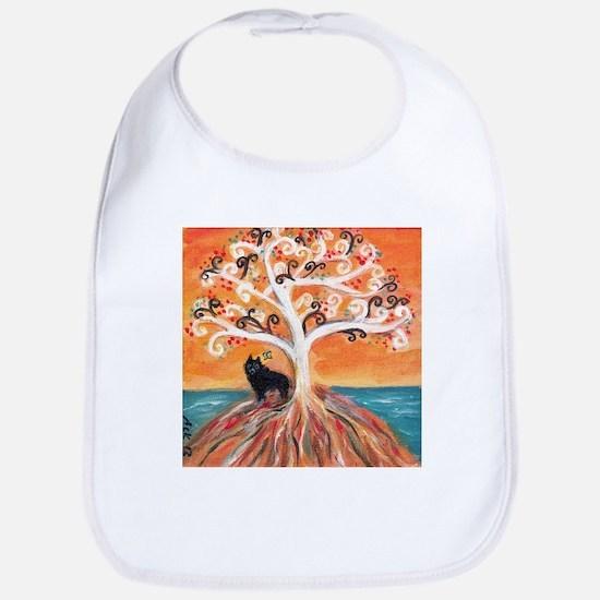 Schipperke spiritual tree Bib