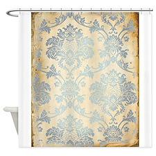 Vintage Damask Shower Curtain