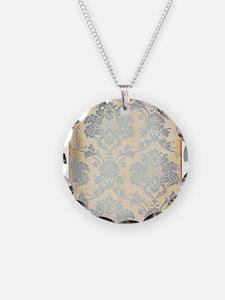 Vintage Damask Necklace