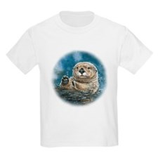 Sea Otter Kids T-Shirt