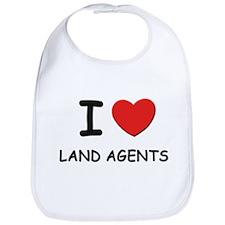 I love land agents Bib