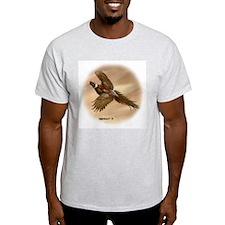 Pheasant Ash Grey T-Shirt