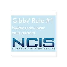 Gibbs' Rule #1 Sticker