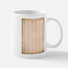 Vintage Pink Stripes Mug
