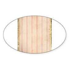 Vintage Pink Stripes Decal