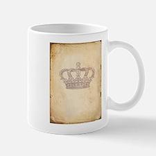 Vintage Pink Royal Crown Mug