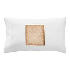 Vintage Pink Damask Pillow Case