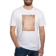 Vintage Pink Damask T-Shirt