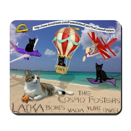 Cosmo Fosters on the Beach Mousepad