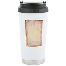Vintage Rose Frame Travel Mug